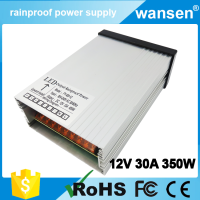 CE RoHS high power AC to DC constant voltage single output FY-360W-12V rainproof 360W led switching 12v 30a power supply smps