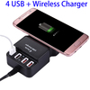 5V 2.1A 2 in 1 USB and Wireless Charger