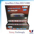 Jyazbox ultra hd V400 with jb200 turbo 8psk and wifi universal remote control