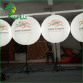 PVC Advertising Tripod Standing Balloon For Advertising / Decorative Stand Inflatable LED Tripod Air Ball