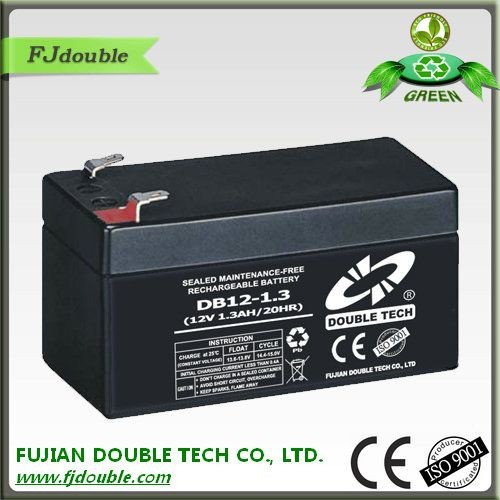 Good price 12v rechargeable battery pack for home appliances 1.3ah ups battery
