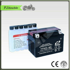 YTX4L-BS Battery/Maintenance free Dry Charge Motorcycle battery 12V4AH