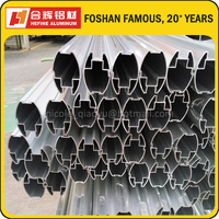Popular Aluminum Partition Frame in Mill Finished