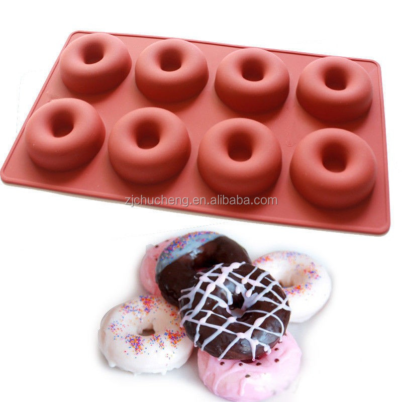 6 and 12 carvity Donut Silicone cake Molds ,microwave custom-made