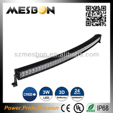 Over-sized heat sink 4 row led light bar dot approved led light bar