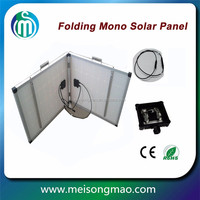 Folding solar panel kit 80W portable folding pv module for camping