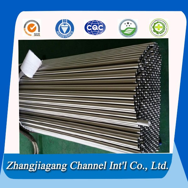 exhaust inox tube/electro polishing stainless steel pipes