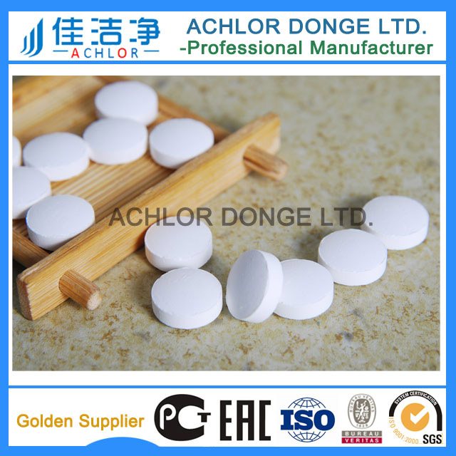 tcca chlorine tablets/water purification for industrial circulating water/pool/spa/fish ponds/livestock