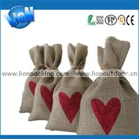 New hot selling jute hessian cloth bags burlap