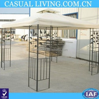 Double-layer top wrought iron Punta canopy