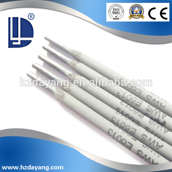 specification of welding electrode e6013