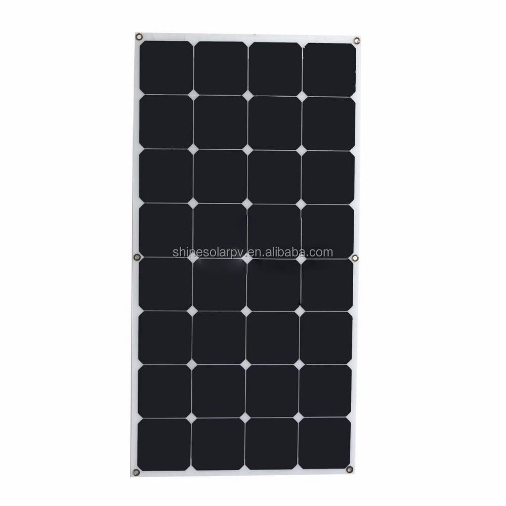 Semi Flexible solar panel 300w Solar Module for RV Boat Camping Battery Charge