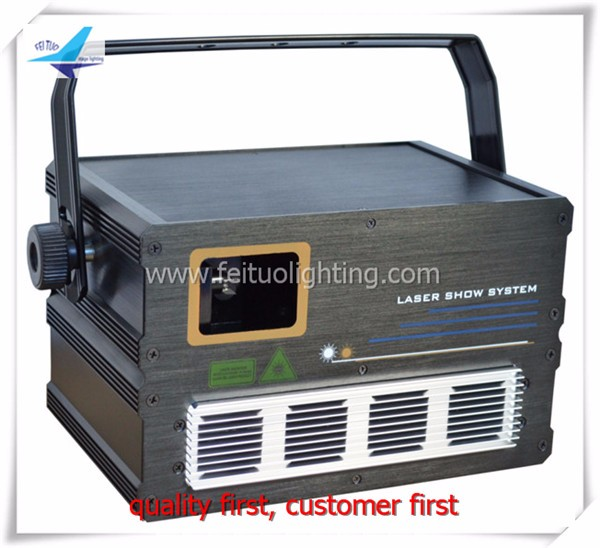 Laser Show System 1W RGB Laser Projector stage 1w rgb laser light