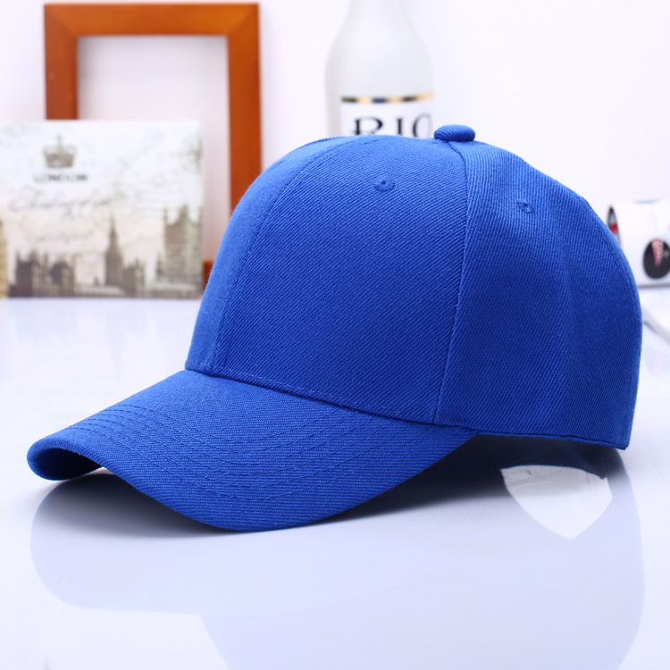 Embroidery 100% Cotton Custom Logo Baseball Cap with high quality