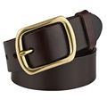 Imported leather belt for men casual wild leather belt