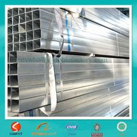 pre galvanizing rectangular tubes made in china company factory