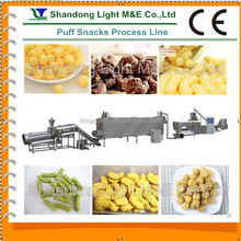 CE Certificate Inflating Double Screw Corn Flour Snacks Machine