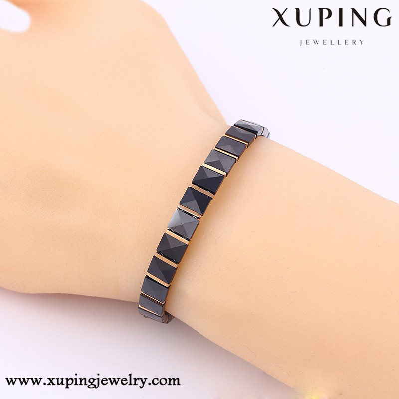 74279-xuping fashion gold plated jewelry wholesale italian leather bracelets