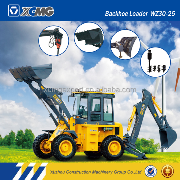 XCMG official original manufacturer WZ30-25 chinese backhoe loader
