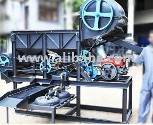 Gem Gold gravel washing machine jig
