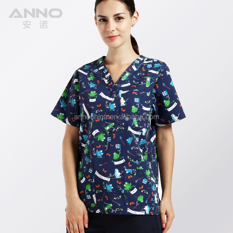 All Uniform Custom Made Medical Scrub for Hospital
