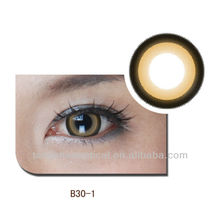 Candy Orange Flash Dramatic contact lens