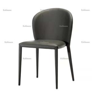 2018 New Design Leisure Modern Leather Dining Room Chair