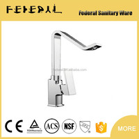 Contemporary solid brass Single Handle Comfortable women cleaning bidet faucet, Polished chrome bidet faucet