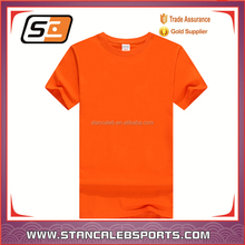 Stan Caleb fashion new trend orange t shirt for sublimation printing
