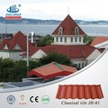 Shingle Mixed Color Stone Coated Steel Roof Tile from Chinese Manufacturer factory