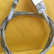 Free DHL Foxconn Quality From Factory 2m E75 Chip 8IC OD 3.0mm Data USB Cable For 5S 6 6s 7 plus with retail box