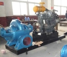 High pressure diesel water pump centrifugal submersible pump