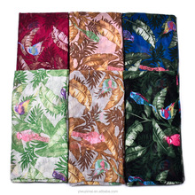 2018 Leaves Print Cotton Feel Shawl Wrap Stole Head Scarves Sarong scarf