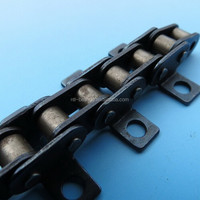 Industry Roller chain with attachment 24B-1