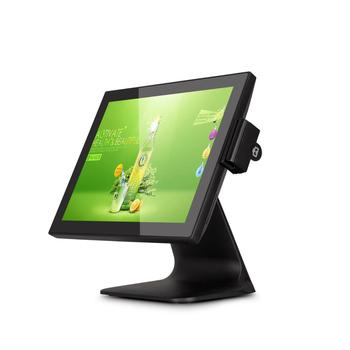 15 inch terminal pos solutions all in one touch panel with customer display