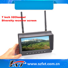 32CH 5.8GHz Diversity Receiver 7 inch FPV screen for FPV Compatiable with Fatshark