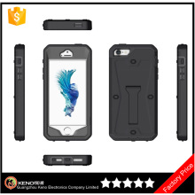 Cheap import phone case Tank Hybrid PC+TPU Kickstand Mobile back cover waterproof case For Apple iPhone 5S bulk buy from china