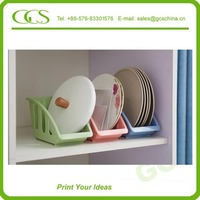 table top wire rack storage rack for plate&bowl&cup prefabricated ornaments lovely kichen art spice rack