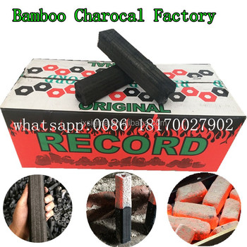Iran natural Bamboo sawdust charcoal for shisha hookah