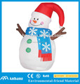 Christmas Decoration Small Cute Inflatable Snowman/ Inflatable Plush Snowman