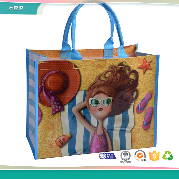 ISO BSCI 2017 OEM eco PP non-woven reusable shopping bag