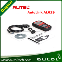Free Shipping Original Autel AutoLink AL619 OBDII CAN ABS SRS Airbag Reset DTC Scan Tool Update Online