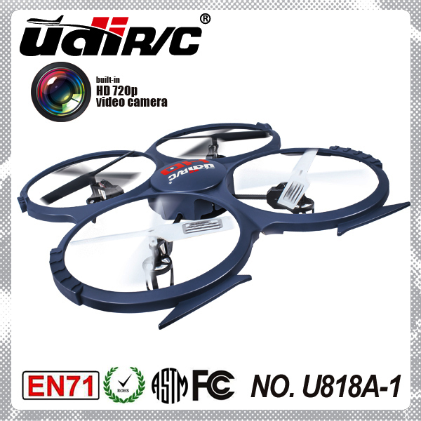 UDI U818A-1 4CH 6axis gyro 2.4Ghz 4 axis ufo aircraft quadcopter with camera