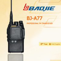 Competitive!!! protable FM transceiver Handheld Two Way Radio BJ-A77 talking long distance with digital FM radio BJ-A77