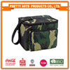 BSCI SEDEX Pillar 4 really factory printed 600D polyester fashion cooler bag with front zipper pocket
