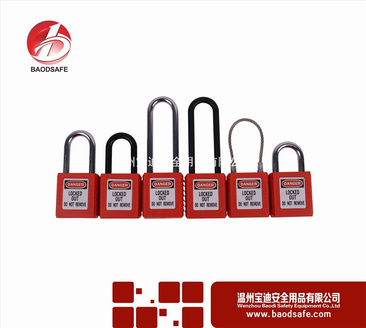 good safety lockout heart shaped padlock