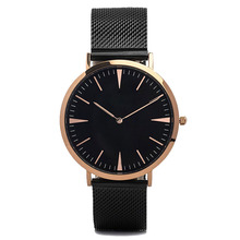 2017 HK Clock&Watch Fair high quality 5ATM waterproof genuine leather best women watch brand