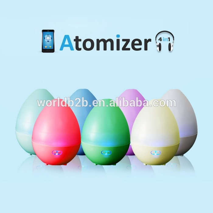 Multifunctional Colorful LED Night Light APP Controlled Atomizer Bluetooth Speaker