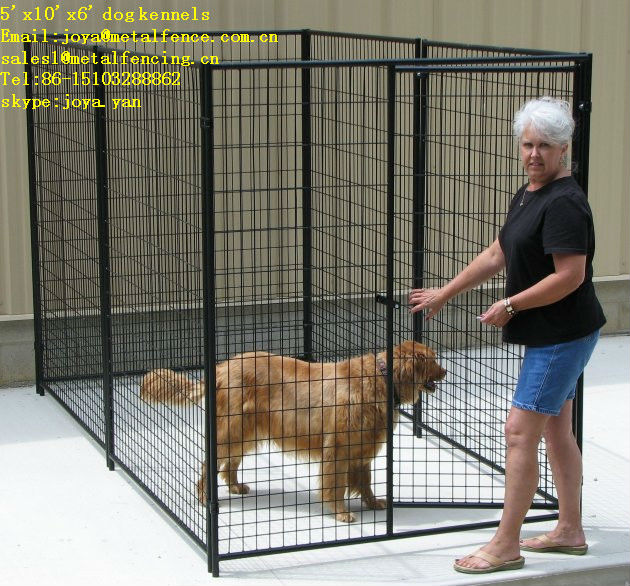 China Hebei factory retail anti rust welded mesh dog cage