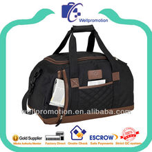 Wellpromotion high quality fancy design travel bags for men